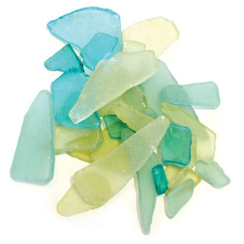 Sea Glass 12.5oz-Green & Yellow -SGC-GREEN