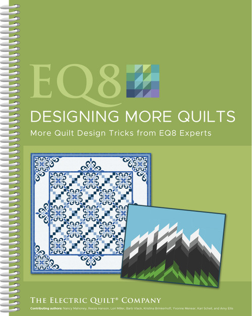 Electric Quilt 8 Designing More Quilts-B8MRQLTS - 6579208884259781893824959
