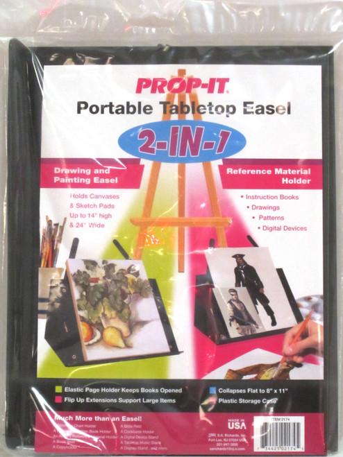 PROP-IT 2-in-1 Portable Tabletop Easel-2174 - 734425021745
