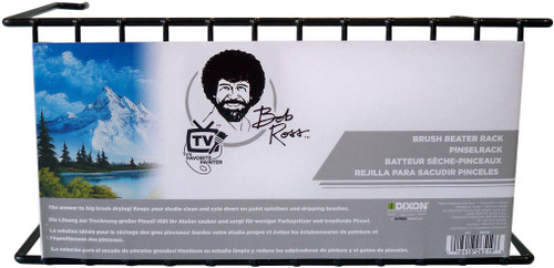 Bob Ross Brush Beater Rack-Black -R6519 - 018918065196