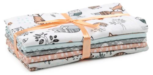 "Fabric Palette Jellies 2.5""X42"" 20/Pkg-Charming Woodland 5 Designs/1 Each -GSTPTHM3"