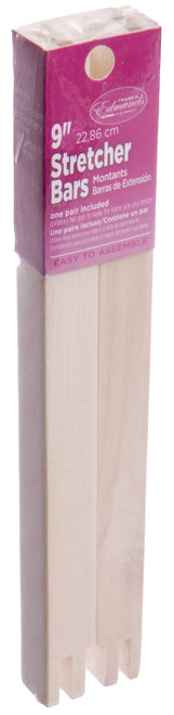 "Frank A. Edmunds Regular Stretcher Bars-9""X.75"" -3009 - 7156271300910715627130091"