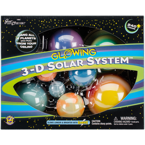 3-D Solar System Kit-BP19862 - 040595198621