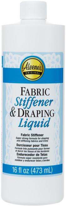 Aleene's Fabric Stiffener & Draping Liquid-16oz -5-1 - 017754155863