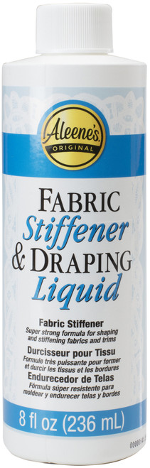 Aleene's Fabric Stiffener & Draping Liquid-8oz -5-3 - 017754155887