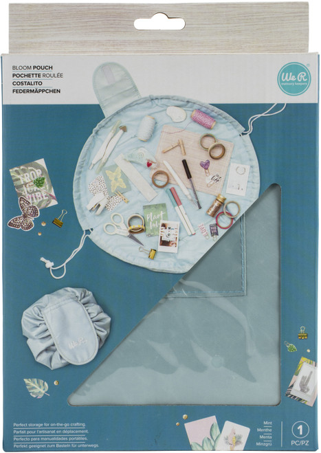 We R Memory Keepers Bloom Pouch-Mint -WR660566 - 633356605669