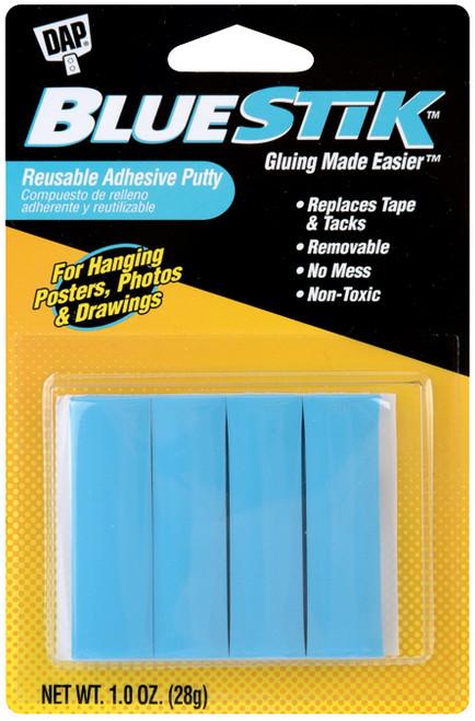 BlueStik Reusable Adhesive Putty-1oz -01201 - 070798012011