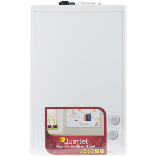 """Magnetic Dry Erase Board 11""""X17""""-White -MHOW1117 - 034138038017"""