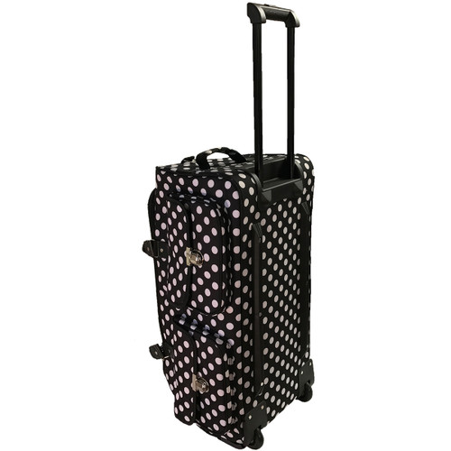 CGull Rolling Craft Machine & Supply Bag 2.0-Black With White Polka Dots -10-0014