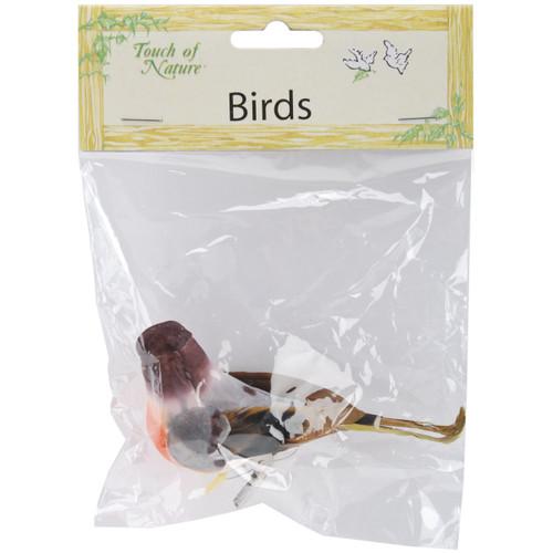 """Mushroom Bird 4""""-American Robin -MD20924 - 684653209241"""