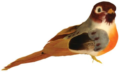 """Mushroom Bird 4""""-American Robin -MD20924"""