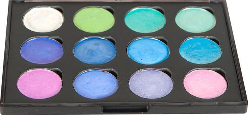 Cosmic Shimmer Iridescent Watercolor Palette Set 4-Summer Garden -CSIWPST4