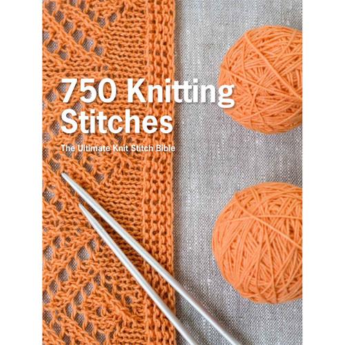 St. Martin's Books-750 Knitting Stitches -SM-67180 - 9781250067180