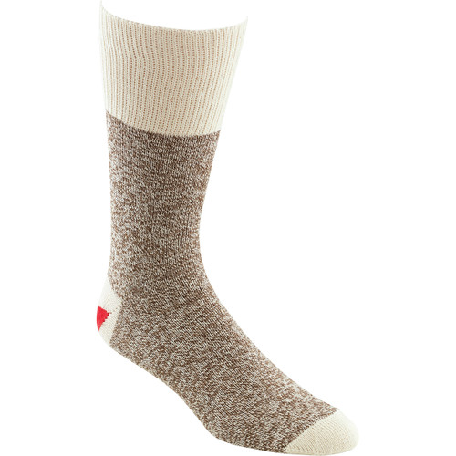 Fox River Red Heel Monkey Socks 2 Pairs-Size 8-9 Brown Heather -6851-2-MED - 087839060399