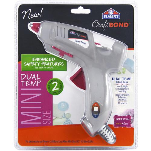 Elmer's CraftBond(R) Dual-Temp Mini Glue Gun-E6049 - 026000060493