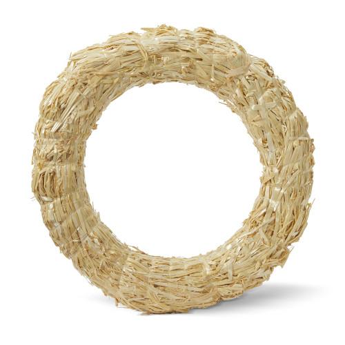 "Floracraft Straw Wreath-10"" -SW10C - 737017551323"