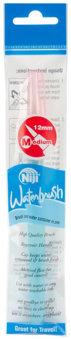 Niji Waterbrush Medium Point-12mm Tip -KWB12 - 031248518729
