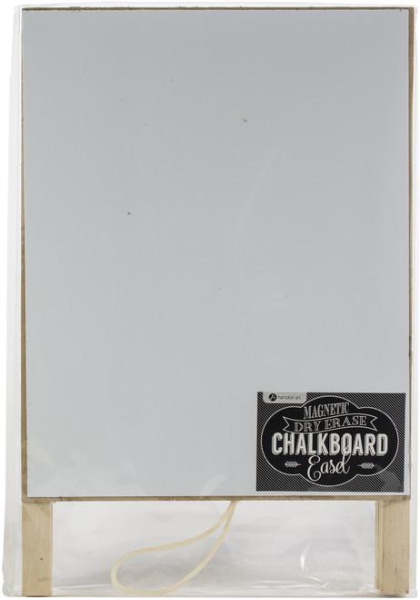 "Magnetic Dry Erase Chalkboard Easel 8""X12""-AC0456 - 729632154508"