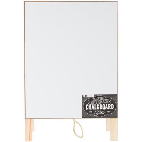 "Magnetic Dry Erase Chalkboard Easel 8""X12""-AC0456"