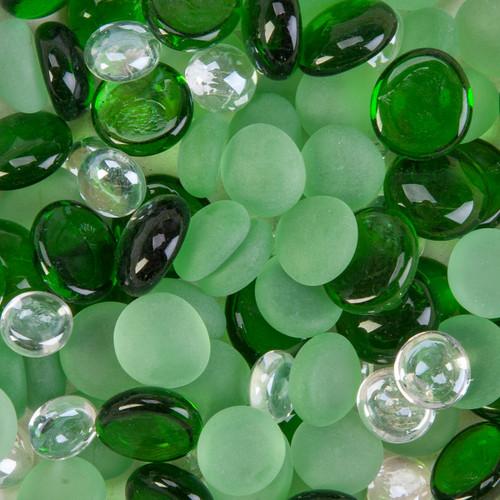 Decorative Gem Mix 12oz-Emerald -70489