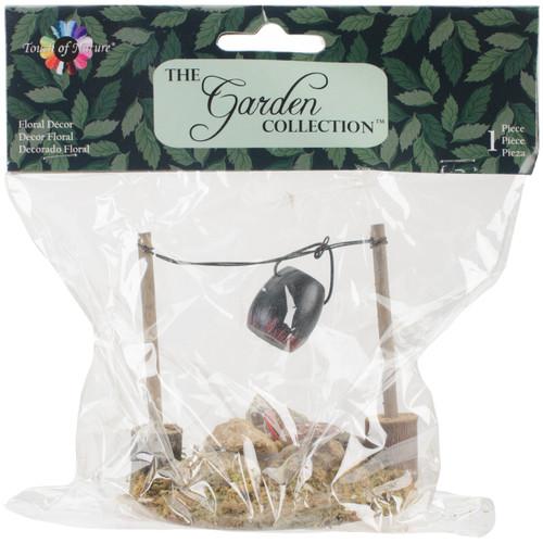 "Fairy Garden LED Fire Pit W/Cooking Pot-3.25"" -50803 - 684653508030"