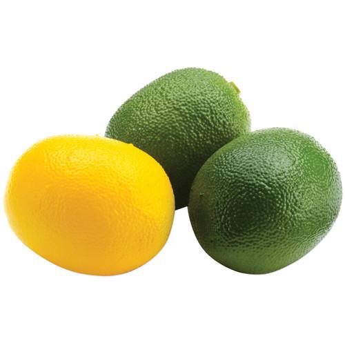Floracraft Design It Simple Decorative Fruit 13/Pkg-Mini Lemons & Limes -RS9802
