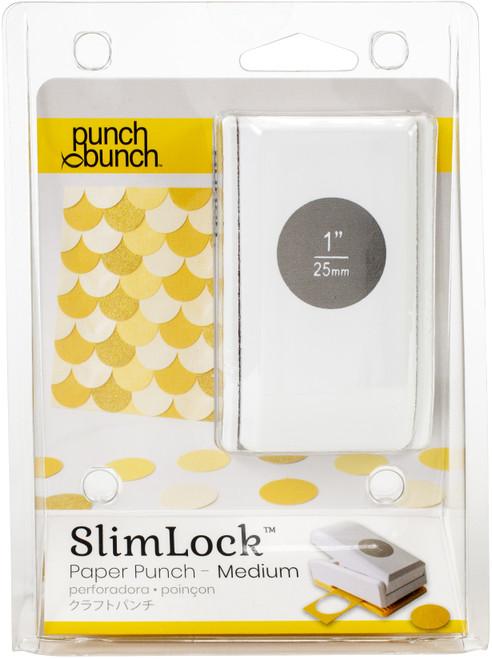 "Punch Bunch SlimLock Medium Punch-Circle 1""X1"" -SL2-CIRCL - 819777024894"