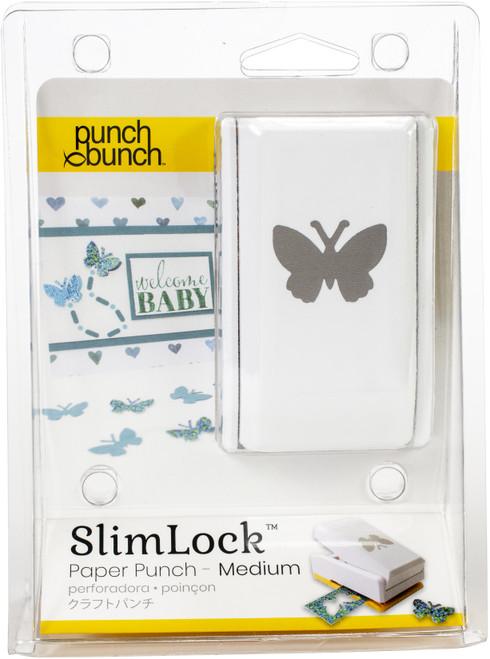 "Punch Bunch SlimLock Medium Punch-Butterfly 1""X.75"" -SL2-BTRFL - 819777024931"