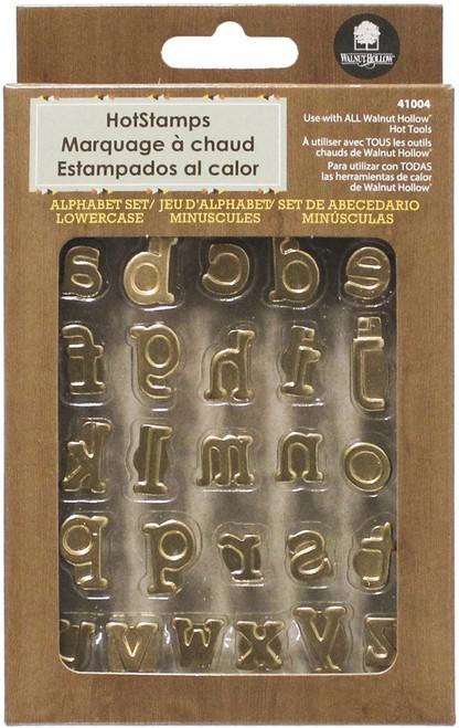 Hot Stamps Alphabet Set 26/Pkg-Lower Case -41004 - 046308410042