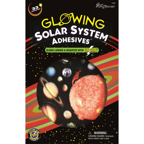Glowing Adhesives-Solar System -19484 - 040595194845