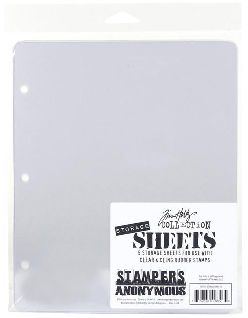 Tim Holtz Storage Sheets 5/Pkg-THSTOR - 752830098565