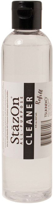StazOn All-Purpose Cleaner 8oz Bottle-Clear -SC000005 - 712353860063
