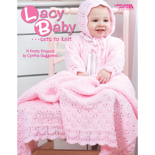 Leisure Arts-Lacy Baby Sets To Knit -LA-4440 - 0289060444099781601406941