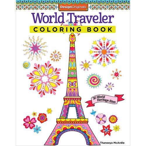 Design Originals-World Traveler Coloring Book -DO-5495 - 9781574219609
