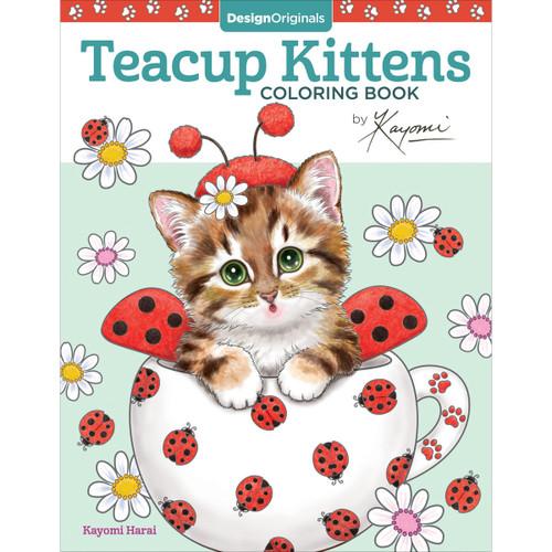Design Originals-Teacup Kittens Coloring Book -DO-5761 - 9781497202269