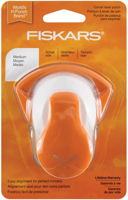 Fiskars Corner Lever Punch-Medium Round -CLP-5484 - 020335036413
