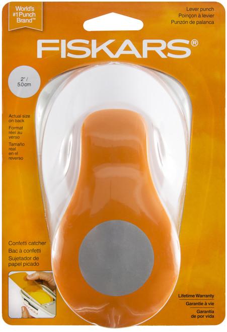 "Fiskars XL Lever Punch-Circle, 2"" -XLP-5496 - 020335036536"