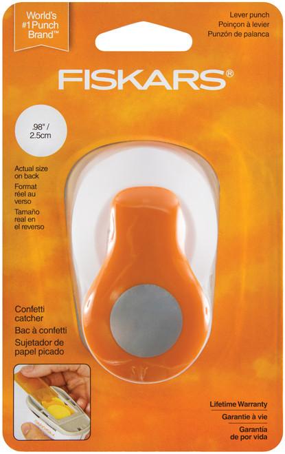 """Fiskars Medium Lever Punch-Circle, 1"""" -MLP-5472 - 020335036291"""