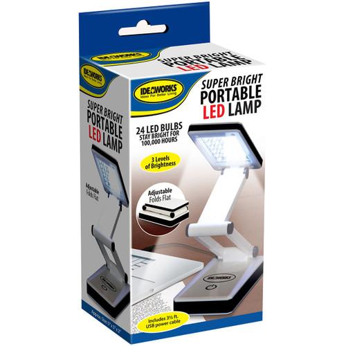 Frank A. Edmunds Super Bright Portable LED Lamp-White -JB6921
