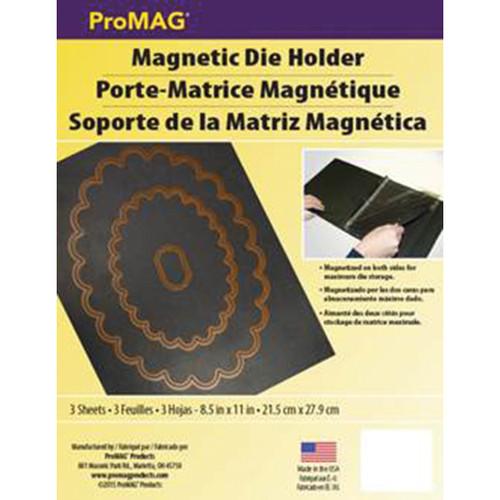 """ProMag Magnetic Die Holder Sheets 3/Pkg-8.5""""X11""""X.3"""" -AFG12513"""