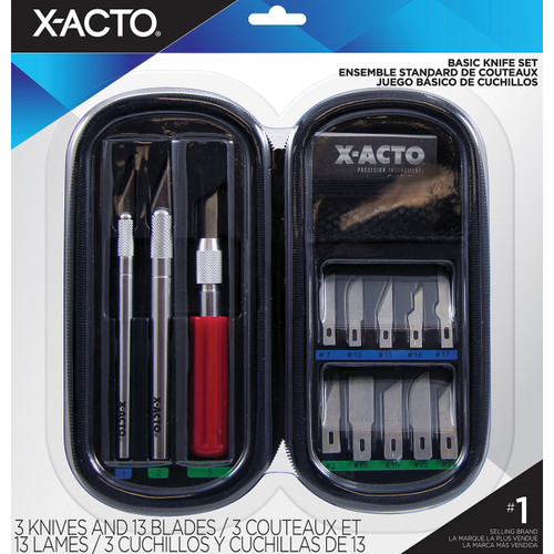 X-ACTO(R) Basic Knife Soft Case Set-X5285 - 079946152852