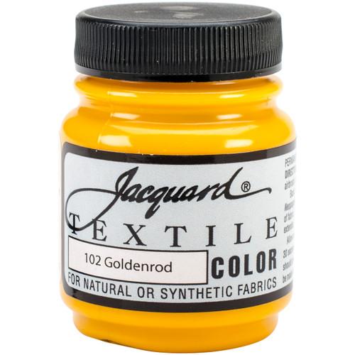Jacquard Textile Color Fabric Paint 2.25oz-Goldenrod -TEXTILE-1102 - 743772110200