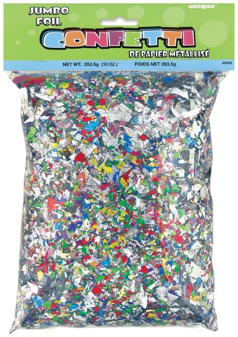 Jumbo Foil Confetti 10oz-Multicolor -9069 - 011179090693