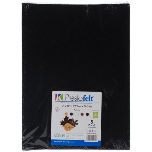 """Presto Felt 9""""X12"""" 5/Pkg-Autumn -K450SOIK-3 - 028981944922"""