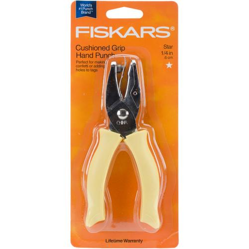 """Fiskars Hand Punch-Star, .25"""" -F2300-2353 - 078484023532"""