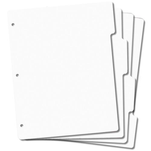 "EZMount Tabbed Stamp Storage Panels 4/Pkg-8.5""X11"" -SS25"