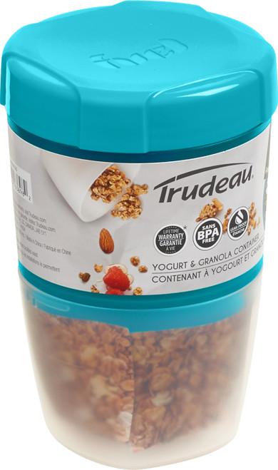 Yogurt & Granola Container W/Ice Lid-Blue -38909326 - 063562638982