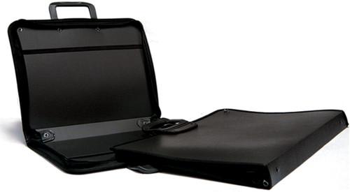 "Stiff Black Nylon Portfolio-17""X22"" -RP1722US - 090672220295"