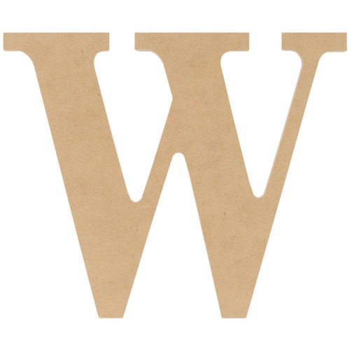 "MDF Classic Font Wood Letters & Numbers 9.5""-W -MDF9-L423 - 886946180248"