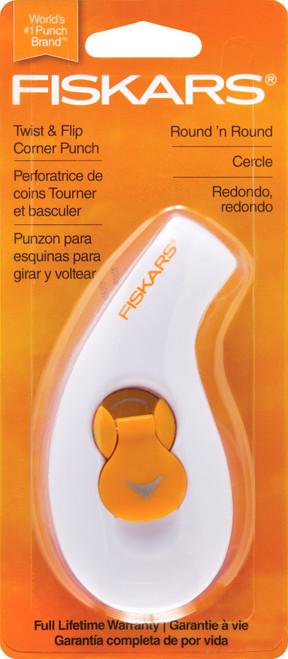 """Fiskars Twist & Flip 2-In-1 Punch-Corner Rounder, .25"""" To 5"""" -01448 - 020335002579"""